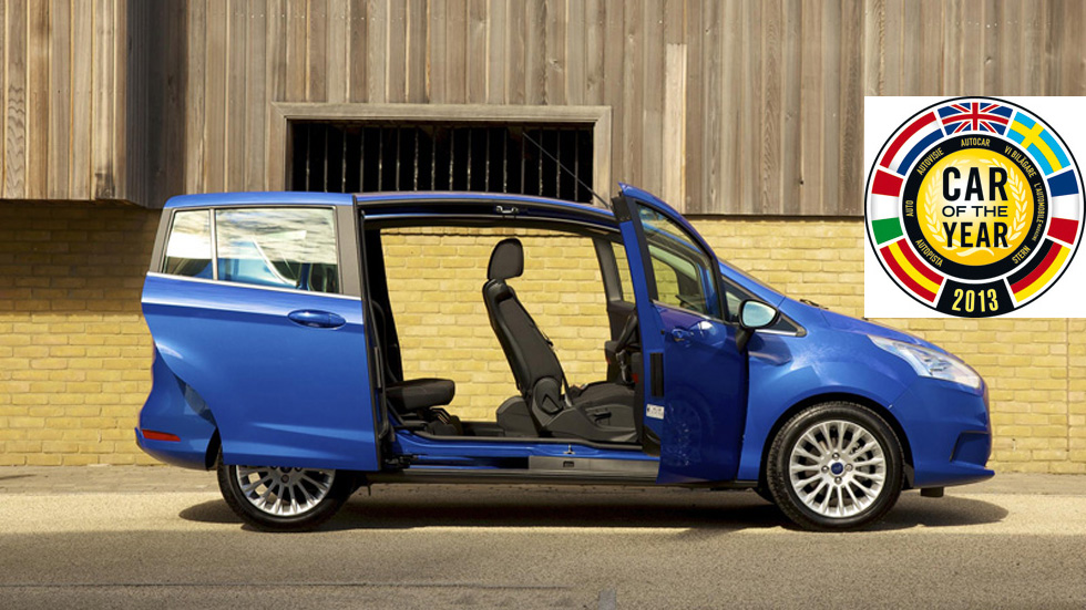 Candidatos Car of the Year 2013: Ford B-Max