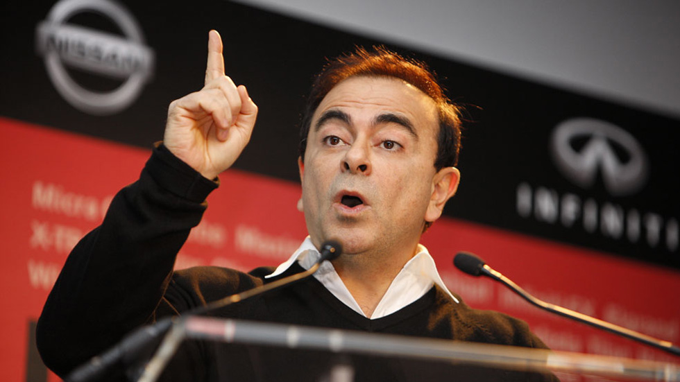 Carlos Ghosn, presidente de ACEA en 2015