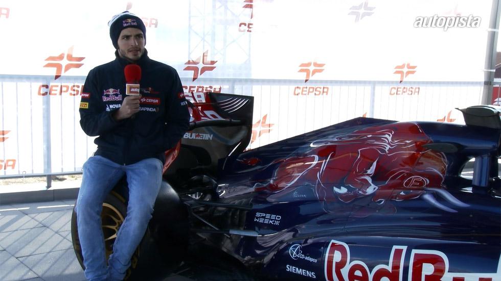 """Carlos Sainz: """"Nunca me planteé otra cosa que no fuese Fórmula 1 para 2015"""" (vídeo)"""