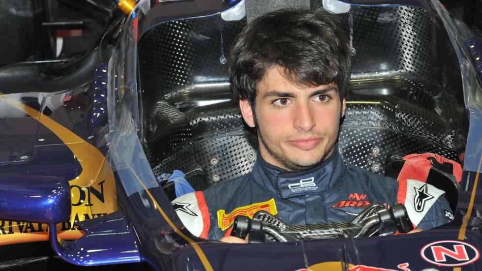 Carlos Sainz Jr. se subirá al Red Bull y al Toro Rosso en Silverstone