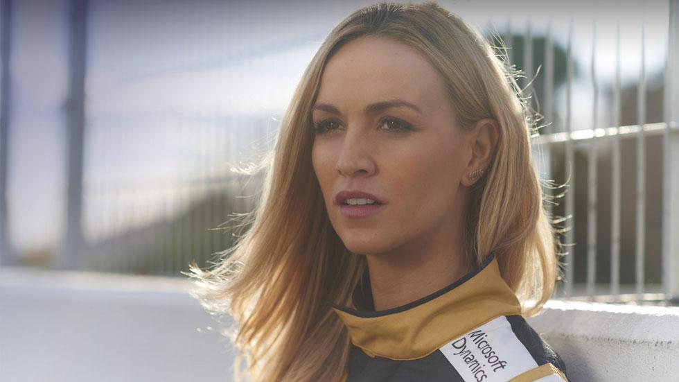 Carmen Jordá,  piloto de desarrollo de Lotus