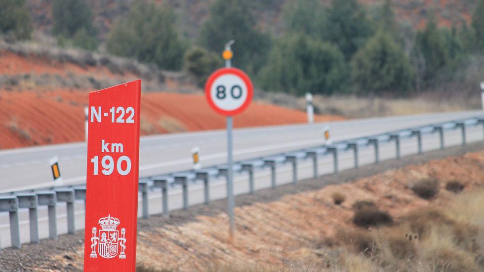 La N-122, la carretera más peligrosa de España