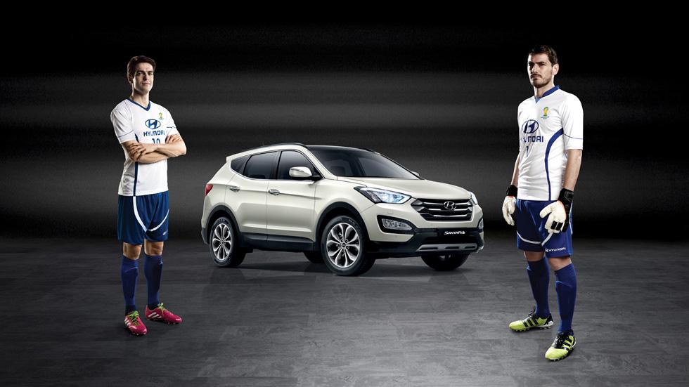 Casillas y Kaká, embajadores de Hyundai en el Mundial de Fútbol de Brasil 2014