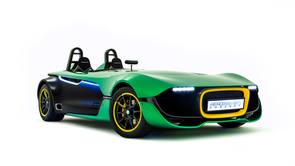 Caterham Aeroseven Concept, adrenalina para dos