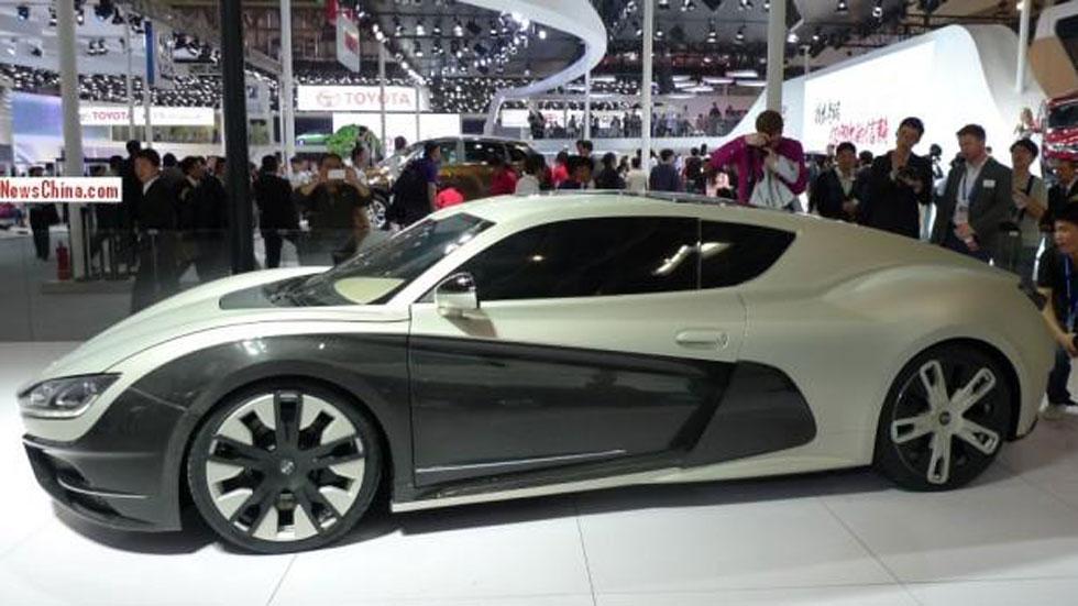 CH Auto Event Concept, el superdeportivo eléctrico chino