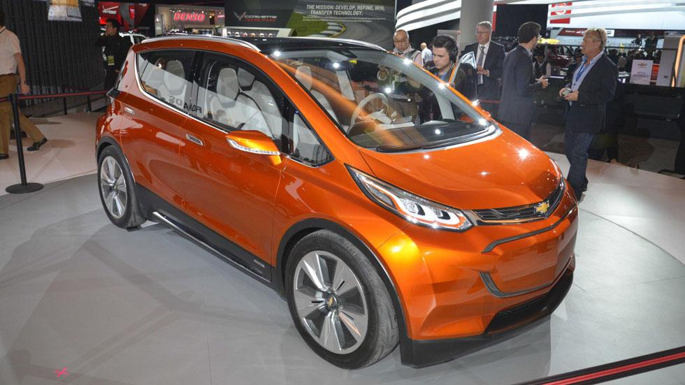 Chevrolet Bolt, el eléctrico de los más de 300 km de autonomía