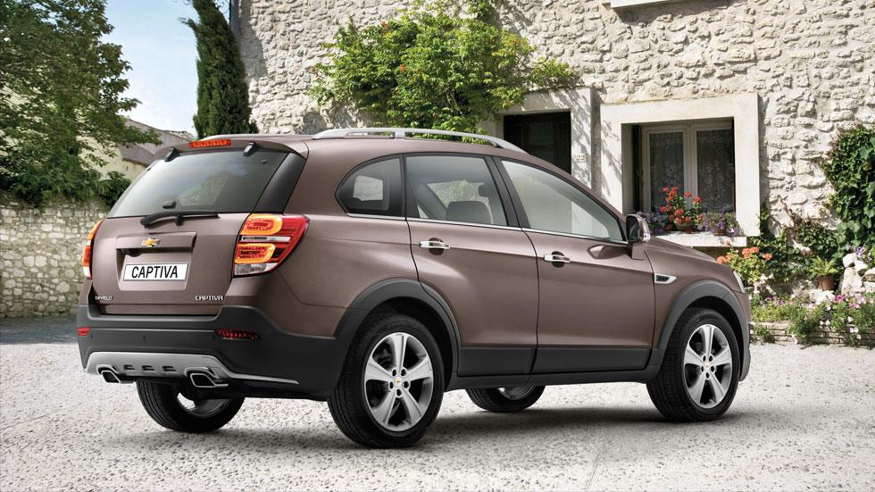 Chevrolet Captiva 2013, el SUV americano estrena rediseño