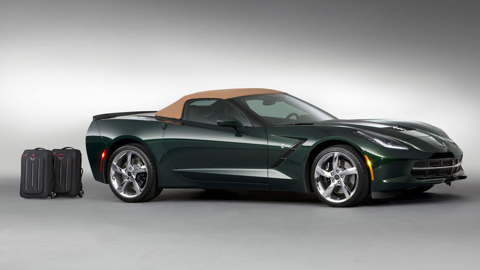 Chevrolet Corvette Stingray Convertible Premiere Edition, capricho para 'reyes'