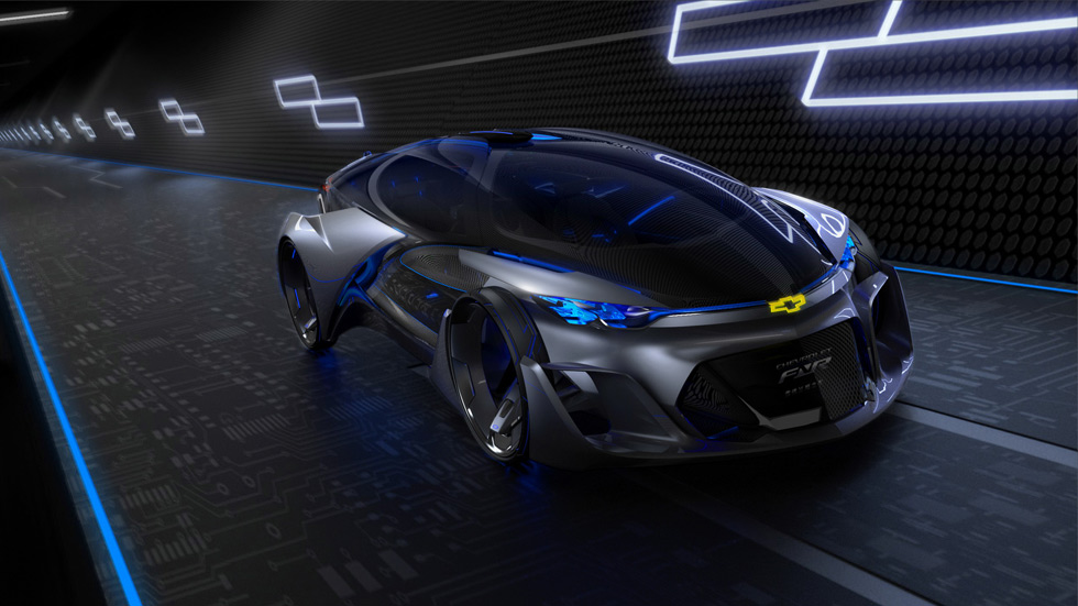 Chevrolet FNR, el autónomo eléctrico llegado desde el futuro