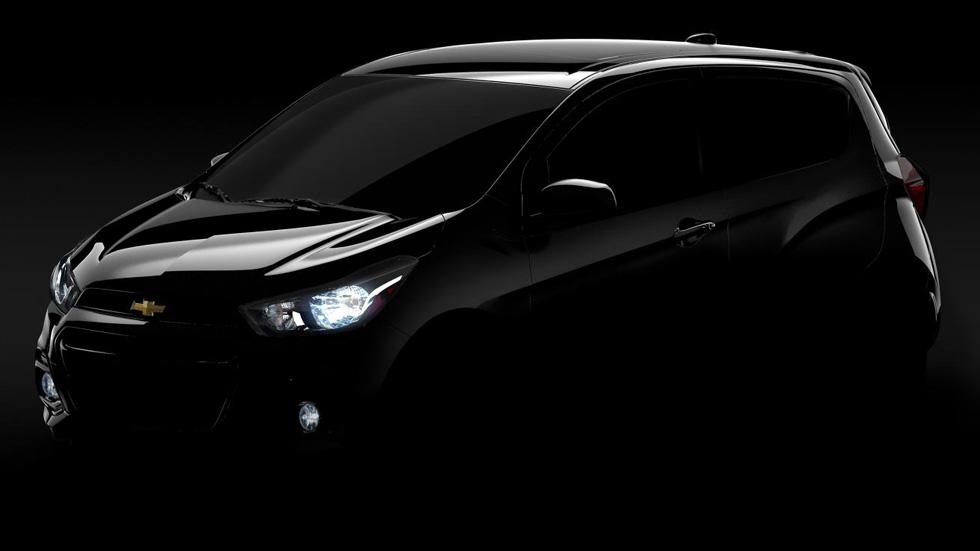 Chevrolet Spark 2016, primeros datos y foto