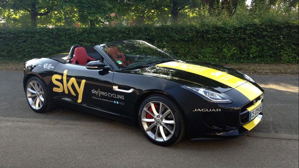 El ganador del Tour de Francia se lleva un Jaguar F-Type a casa