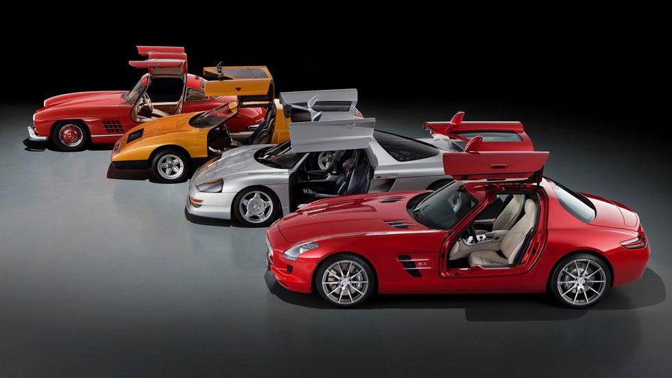 Los cinco mejores coches de...Mercedes