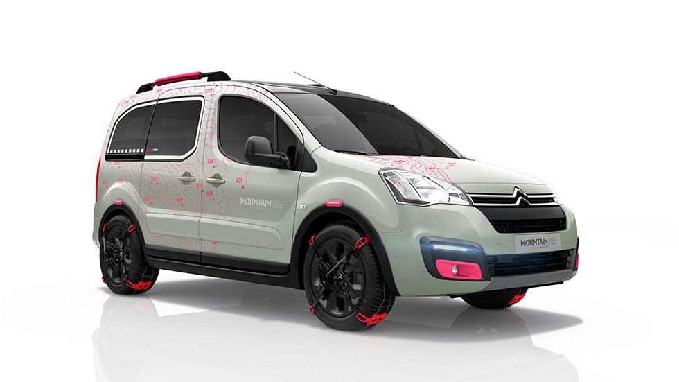 Citroën Berlingo Mountain Vibe Concept, sabor aventurero
