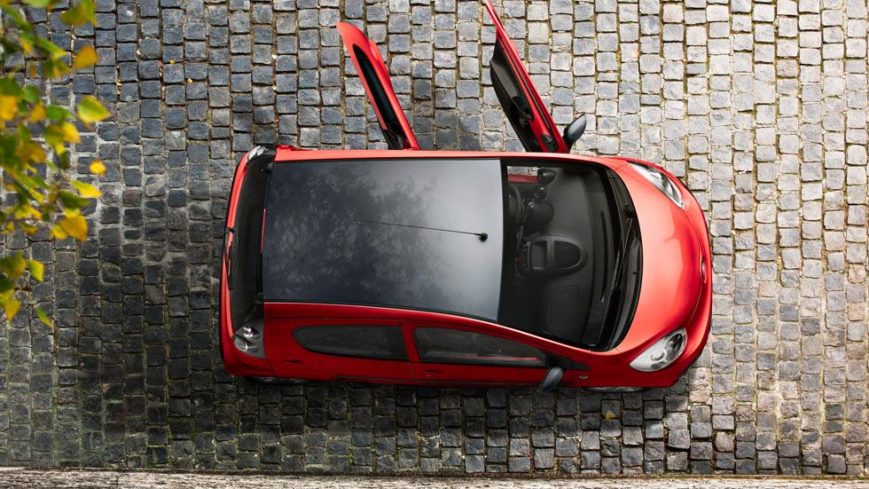 Citroën C1 Collection, nota de color