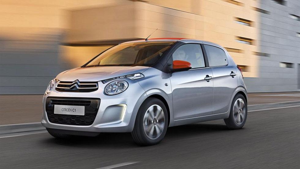 Citroën C1, otro urbano con frenada de emergencia en ciudad