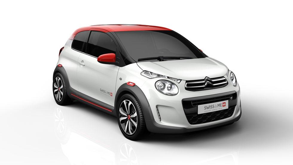 Citroën C1 'Swiss and Me', el urbano se hace el 'suizo'