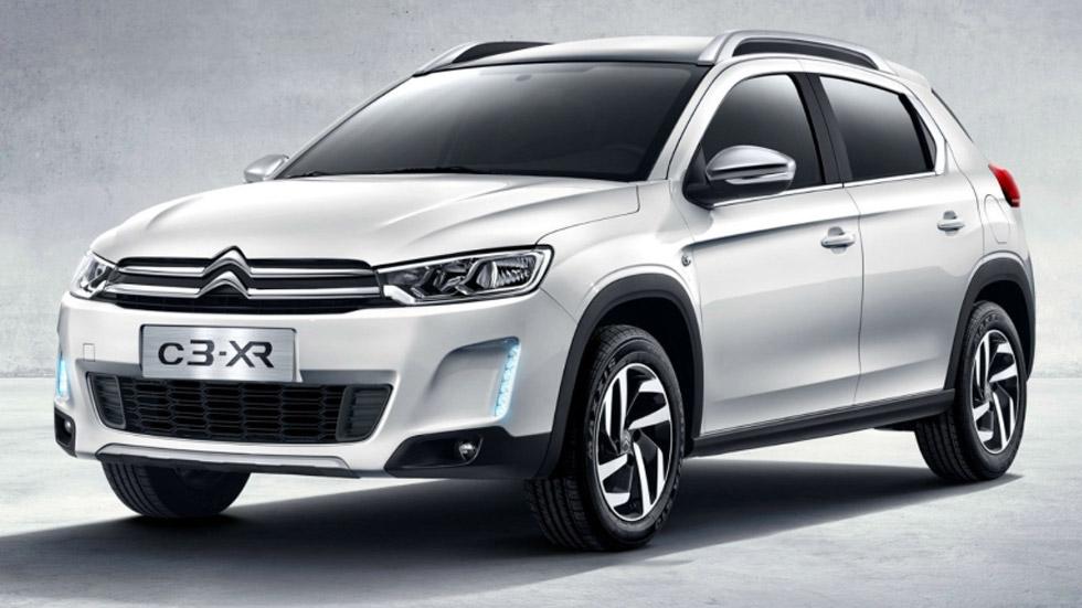 Citroën C3-XR, las primeras fotos del crossover franco-chino