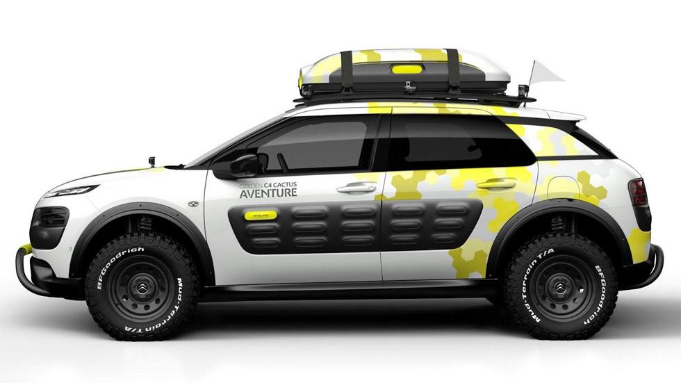 Citroën C4 Cactus Aventure Concept: el hermano aventurero