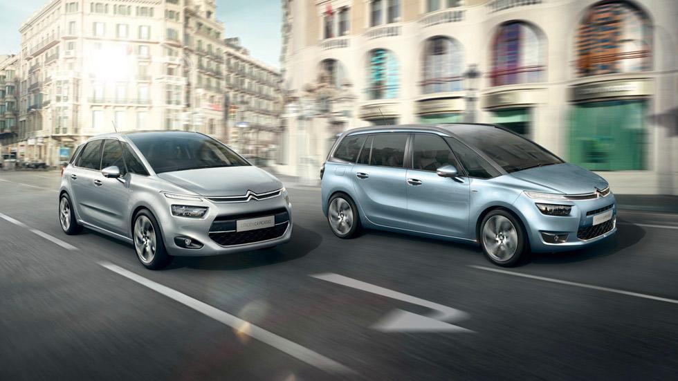 Citroën C4 Picasso y Grand C4 Picasso con nuevos motores Euro 6