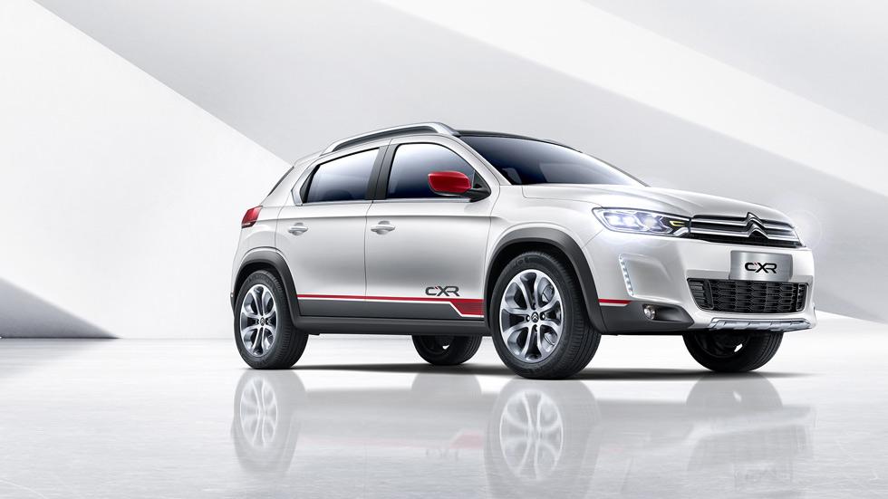 Citroën C-XR Concept, nuevo SUV compacto