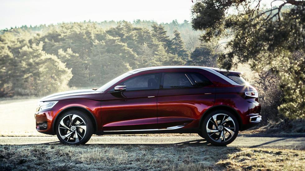 Citroën 'Wild Rubis', el futuro SUV de la línea DS