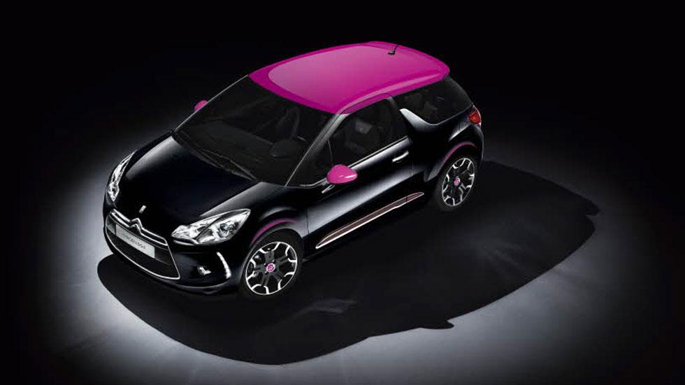 Citroën DS3 Dark Rose, un toque más 'fashion'