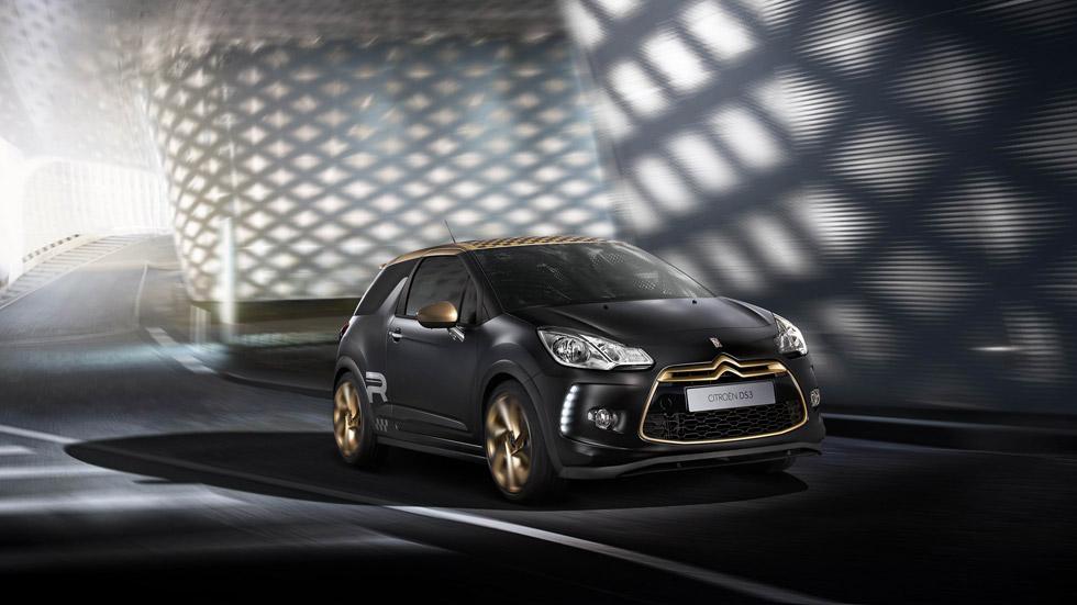 Citroën DS3 Racing Gold Mat: deportividad dorada
