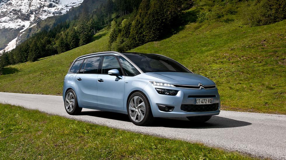 Contacto: Citroën Grand C4 Picasso 2.0 Blue e-HDI, equilibrio al poder