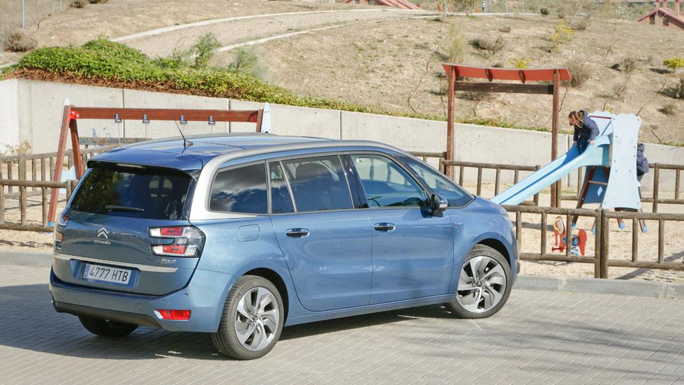 Prueba: Citroën Grand C4 Picasso 2.0 BlueHDI, loft para 7