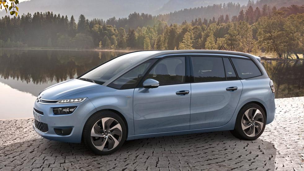 Citroën Grand C4 Picasso, el siete plazas más eficiente