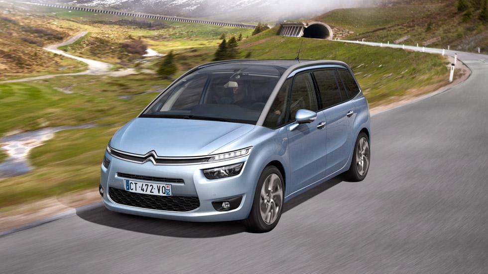 El Citroën Grand C4 Picasso: desde 21.000 euros