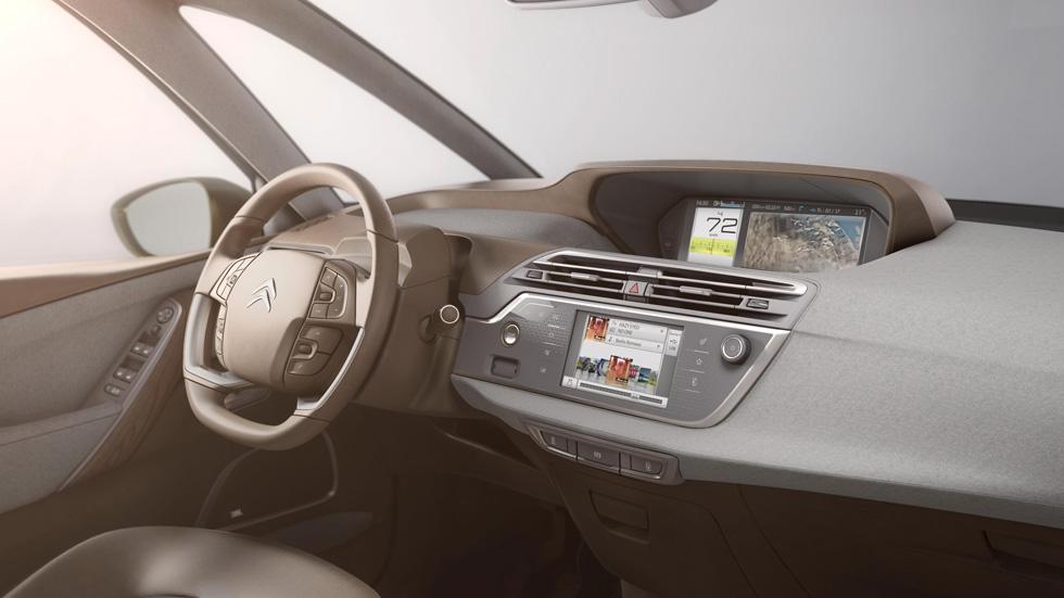 Citroën Technospace, así será el interior del nuevo C4 Picasso