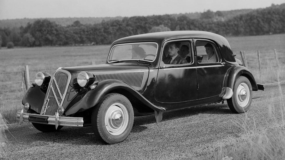 Citroën Traction Avant, rompiendo moldes en 1934