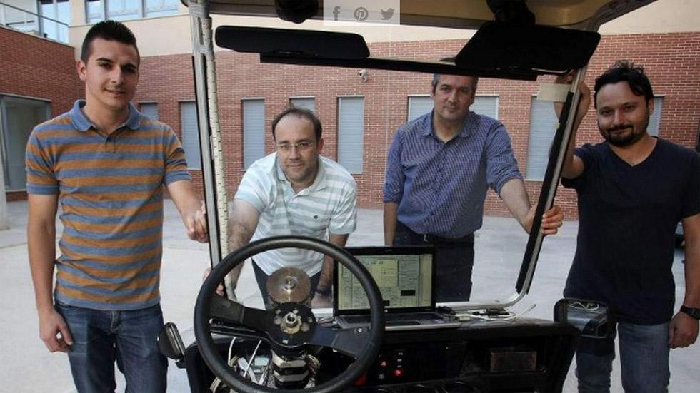 Investigadores españoles crean el coche sin conductor de bajo coste