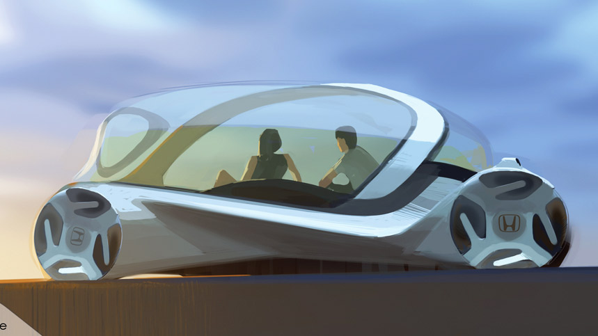 Así interactuarán los coches con las personas en el futuro