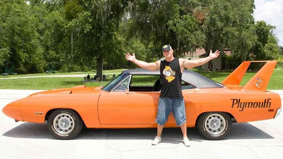 Los coches norteamericanos del luchador John Cena