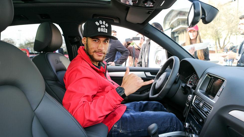 Los jugadores del Barça ya tienen sus Audi