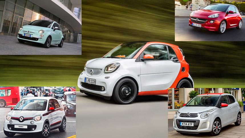 Los cinco coches urbanos con más estilo del momento