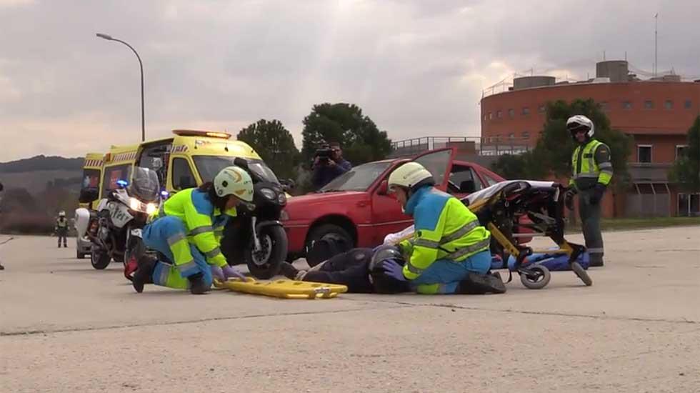 Vídeo: cómo actuar en un accidente de tráfico