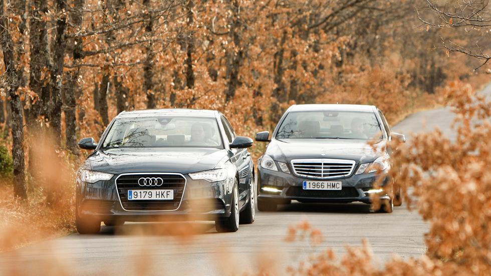 Comparativa: Audi A6 Hybrid vs Mercedes E 300 BlueTec Hybrid