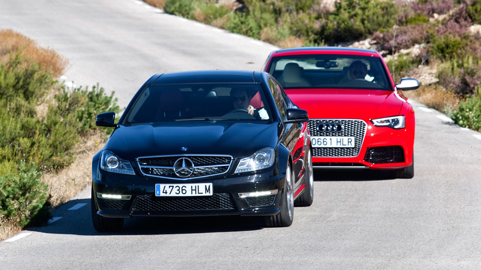 Comparativa: Audi RS5 vs Mercedes C63 AMG Coupé