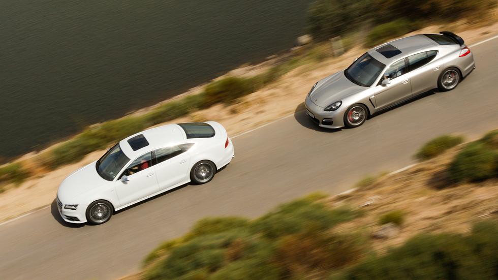 Comparativa: Audi S7 Sportback vs Porsche Panamera GTS