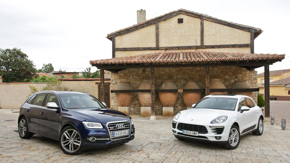 Comparativa: Audi SQ5 TDi vs Porsche Macan S Diesel, SUV de elite