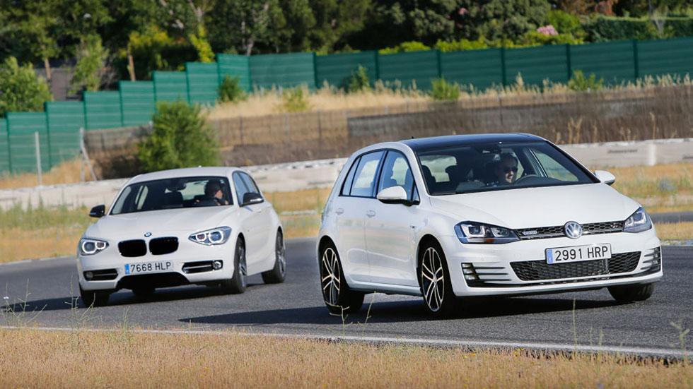 Comparativa bmw d vs volkswagen golf gtd autopista