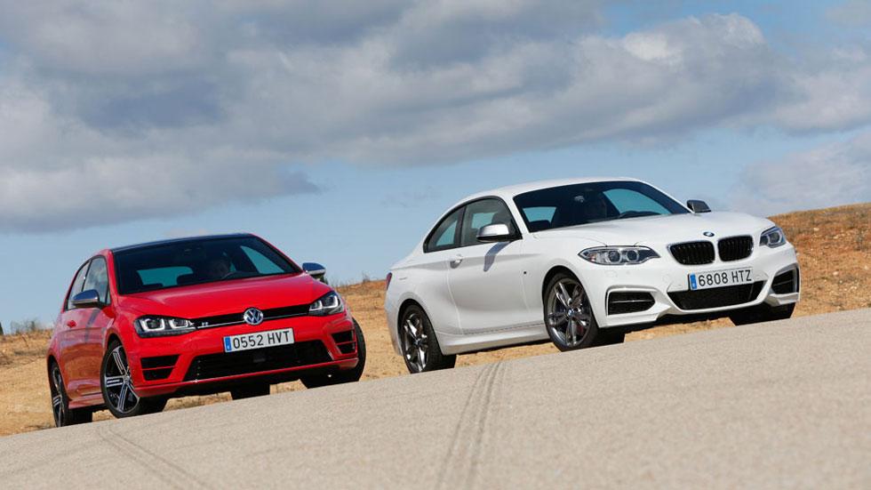 Comparativa: BMW M235I vs Volkswagen Golf R