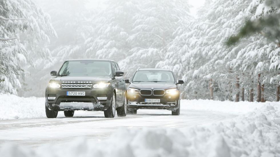 Comparativa: BMW X5 30d xDrive vs Range Rover Sport 3.0 TDV6, reinos paralelos