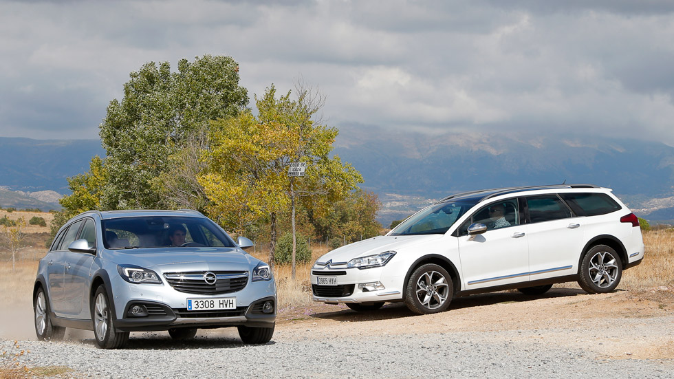 Comparativa: Citroën C5 HDI 160 Crosstourer vs Opel Insignia 2.0 CDTI 163 Country Tourer 4x4