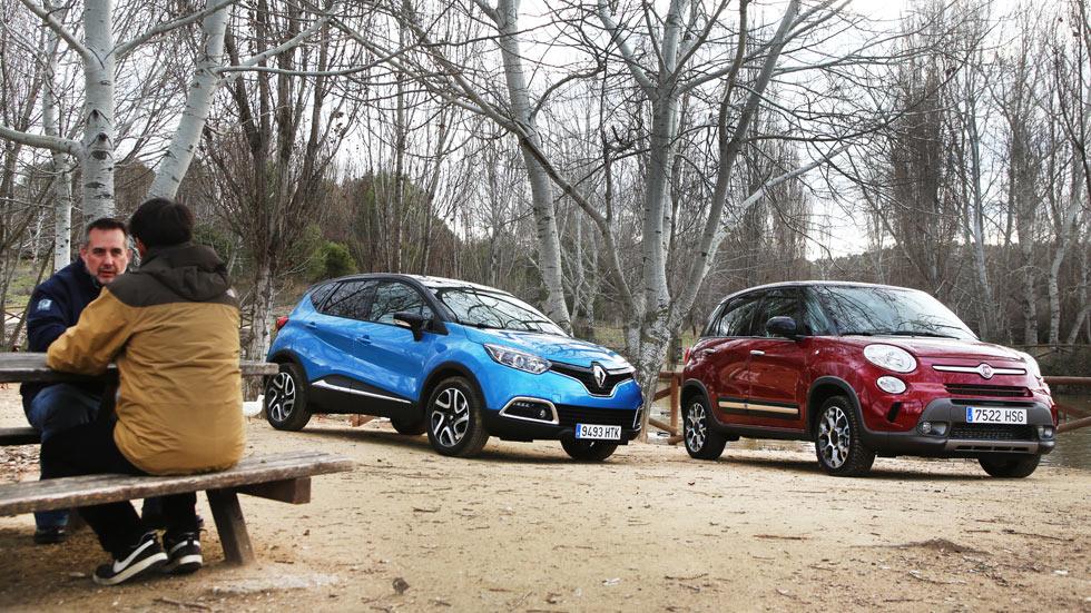 Comparativa: Fiat 500L Trekking 1.3 MJet 85 vs Renault Captur 1.5 dCi 90