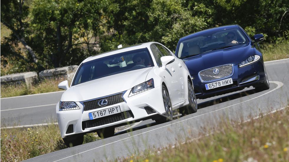 Comparativa: Lexus GS 250 y Jaguar XF 2.0 i4, acceso al lujo