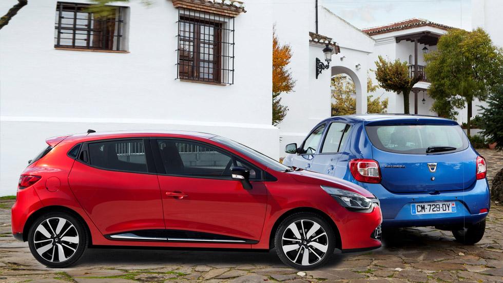 Comparativa: Renault Clio 1.5 dCi y Dacia Sandero 1.5 dCi, ¿el mismo coche?